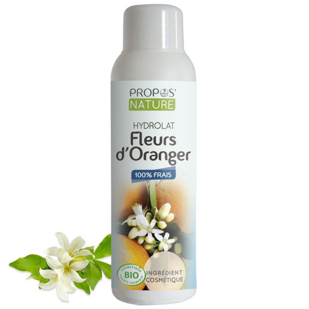 Propos'nature, Idrolato di fiori d'arancio bio, 100 ml Idrolato di fiori d' arancio bio 100ml PROPOS' NATURE
