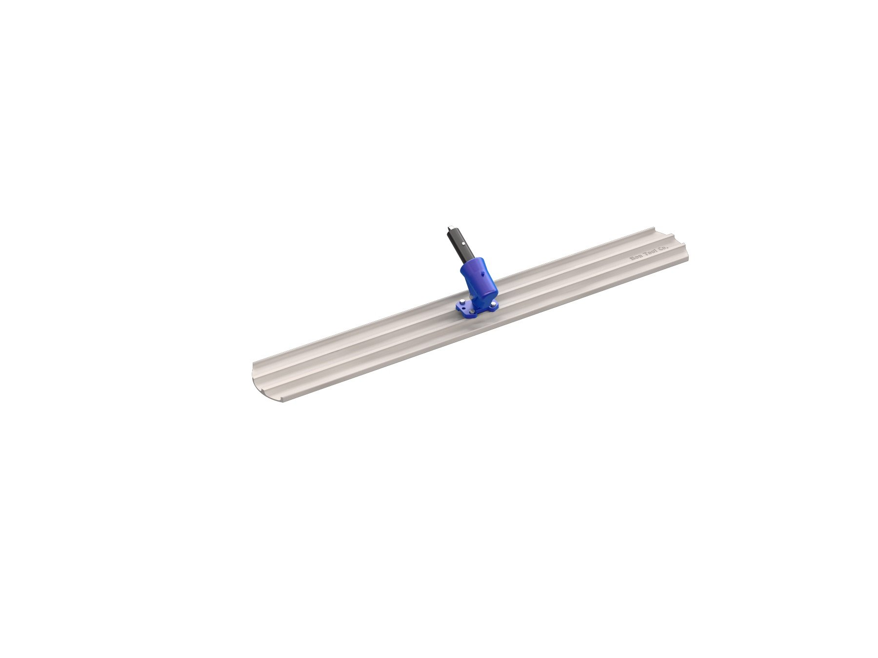 Bon 82-425 60-Inch by 8-Inch Round End Magnesium Bull Float with Wormgear Bracket by bon