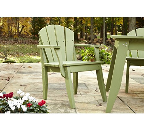 Uwharrie Chair Co P075-31-Twilight Blue-Dist-Pine Plaza Dining Chair with Arms, Twilight Blue-Distressed
