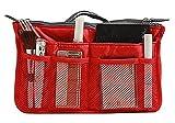 StarSide Large Nylon Handbag Insert Comestic Gadget Purse Organizer Travel Smart Hand Pouch Bag