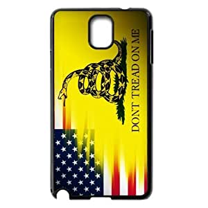 Run horse store - Just for You, Fashionable Gadsden Flag Don't Tread On Me picture for black plastic Samsung Galaxy Note 3 case