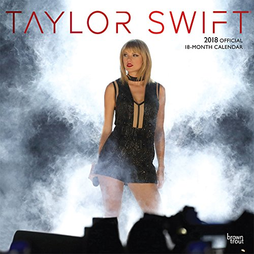 Taylor Swift 2018 12 x 12 Inch Monthly Square Wall Calendar with Foil Stamped Cover, Music Pop Singer Songwriter Celebrity (Multilingual Edition) (Christmas Spanish Songs English And)