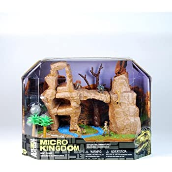 Amazon Com Animal Planet Micro Kingdom Dino Quake Playset