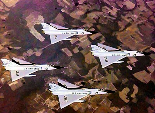 48th Fighter-Interceptor Squadron F-106 Delta Dart Four-Ship (48th Fighter)