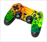DreamController Top Rated Best PS4 Controller - Comes with COOL Custom Design & Extreme Features like rapid fire, auto spot, jump spot, drop and auto Burst & Much More. (Colorful)