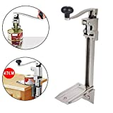Commercial Can Opener, 13'' Heavy-Duty Table Mounted Bench Top Clamp Catering Can Tin Opener for Kitchen Restaurant Hotel Bar