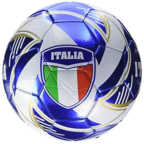 Monde 13408–Ballon de football en cuir Euro Team Italie