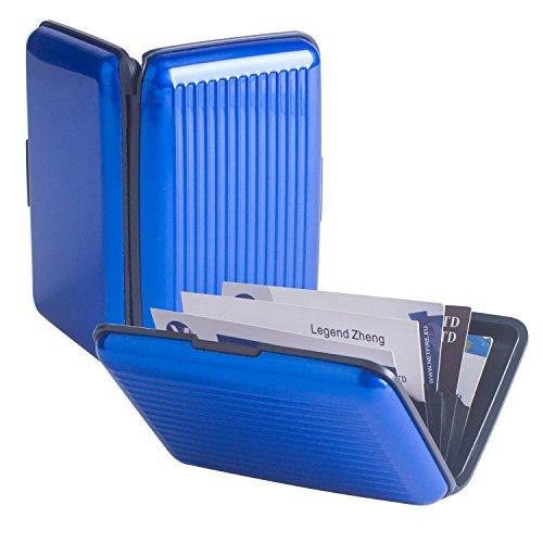 Pocket Waterproof Business ID Credit Card Wallet Holder Box Case - 8
