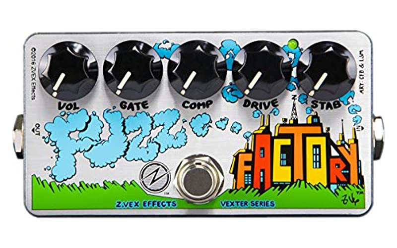 Z.VEX 이펙터 Vexter Series FUZZ FACTORY