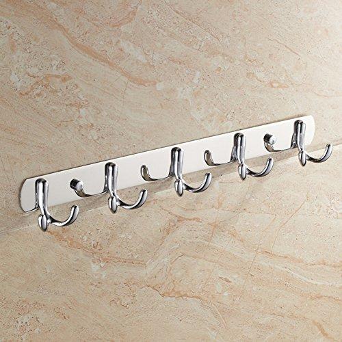 well-wreapped Stainless steel hooks/ Towel hook/coat and hat hook / bathroom hooks/Wall-mounted Robe Hook-A