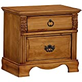 Standard Furniture 83007 Georgetown Nightstand, Brown