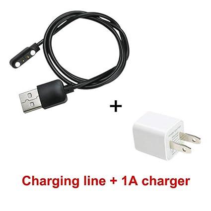 Amazon.com: Cable de carga universal de 2 pines para reloj ...