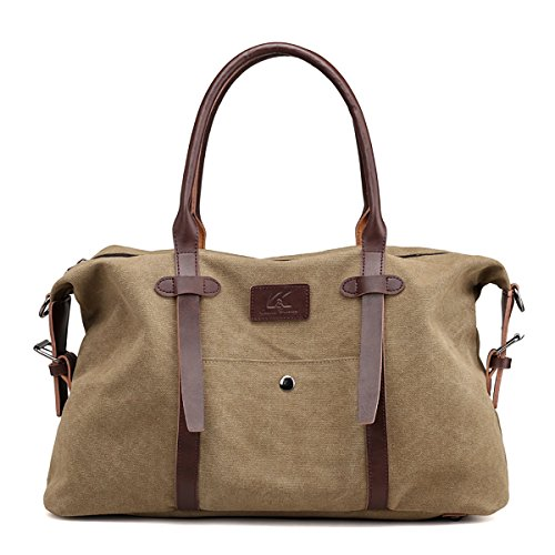Boston Handbags Strap Brown Large Women's Khaki Bag with Shoulder Casual Bags Lightweight Shoulder SDINAZ 4wvzEqHq