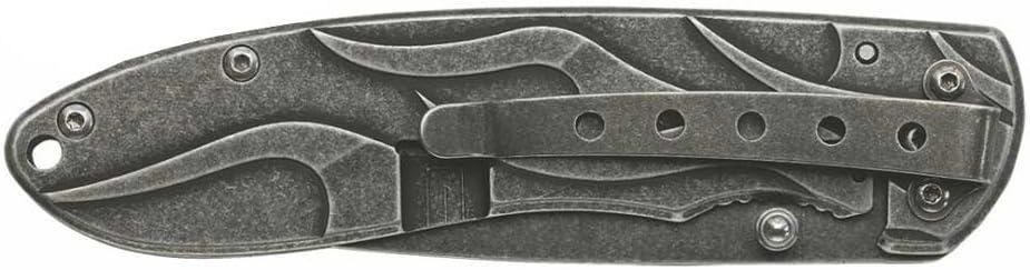 Case Harley-Davidson 52114 Tec X TK-B T0114.5 Stainless Black Hard Coat Knife