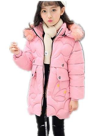 c2c8692b8 MILEEO Girls Coat - Girls Puffa Coat Jacket Quilted Hooded School ...