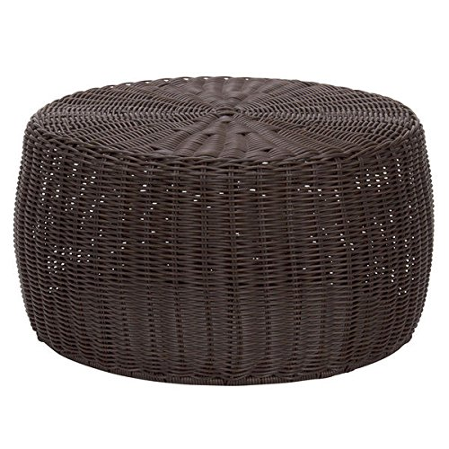 Sturdy Resin (Casual, Sturdy, Resilient And Smooth Weather Resistant Resin Wicker Low Table With Sturdy Metal Frame, Brown - Assembled)