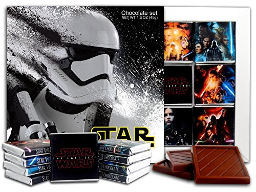 DA CHOCOLATE Candy Souvenir STAR WARS Chocolate Gift Set 5x5in 1 box (Stormtrooper Prime)(0838)