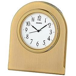 Seiko Clocks QHG041G Table Clock massive