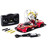 Air Hogs - 2-in-1 Drone Power Racers Driving Flying - Sports Car - Red
