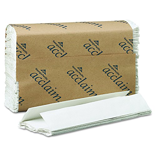 Georgia Pacific Professional 20603 C-Fold Paper Towels, 10 1/10 x 13 1/5, White, 240 per Pack (Case of 10 - Fold Folded