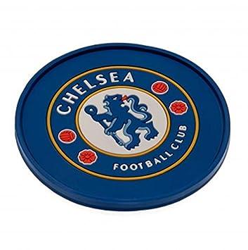 Amazon.com: Posavasos de silicona – Chelsea F.C: Sports ...