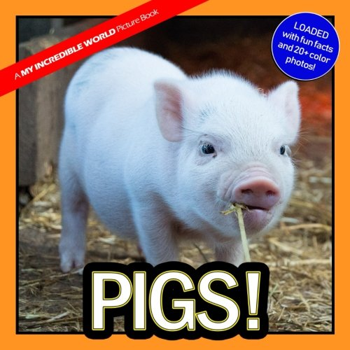 Pigs!: A My Incredible World Picture Book for Children (Volume 5)