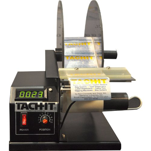 Tach-It SH414D Premium Semi-Automatic Label Dispenser by Tach-It