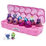 Hatchimals CollEGGtibles, Jewelry Box Royal Dozen 12-Pack Egg Carton with 2 Exclusive