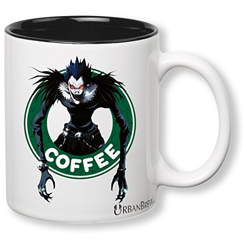 Death Note Ryuk Starbucks Mug (Perfect Gift For Family, Friends, Death Note Fans) – UrbanBrew LLC