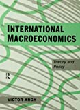 International Macroeconomics, Victor Argy, 0415098238