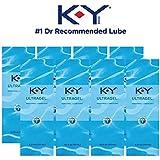 K-Y UltraGel Personal Water Based Lubricant, 4.5 Oz (Pack of 8)