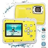 ETbotu 12MP 2 Inch LCD Display Children HD Digital Camera Underwater 3M Waterproof Action Camera Camcorder