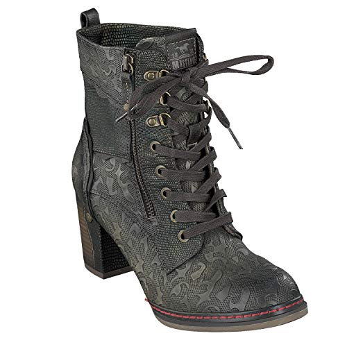 Boots Damen 506 Schuhe Mustang 1287 Ankle Stiefeletten 48qBYwx