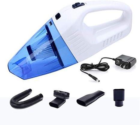 Aspirador Inalámbrico Recargable, Aspiradora Portátil,4000PA 12V 100W Aspirador Potente Ciclón, Húmedo Y Seco, Adecuado para Uso Doméstico Y Mascotas,Blue: Amazon.es: Deportes y aire libre