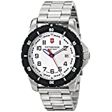 Victorinox Men's 241677 Analog Display Swiss Quartz Silver Watch