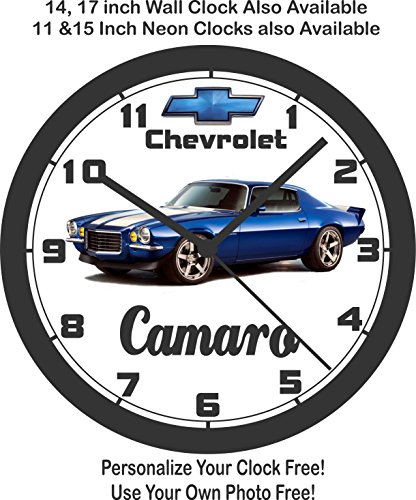 - 1970 CHEVROLET CAMARO RS WALL CLOCK-FREE USA SHIP