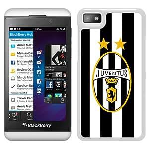 New Fashion Custom Designed Skin Case For Blackberry Z10 With Juventus White Phone Case 7