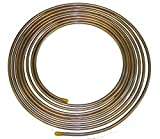 Copper Nickel Brake Fuel Line Tubing Kit 5/16 OD 25 Ft Coil Roll (L-5-3)