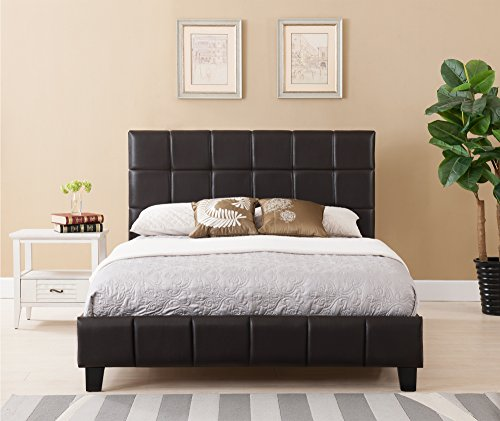 Boraam Rossington Bed Set, King, Brown