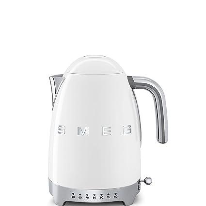 SMEG Calentador de Agua electrico, hervidor KLF04BLEU, 2400 W, 1.7 litros, De plástico, Acero Inoxidable, Negro: Amazon.es: Hogar