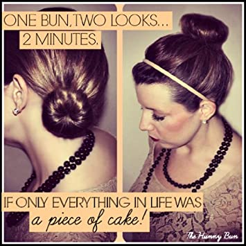 Amazon Com The Hunny Bun Top Knot Ballerina Messy Bun Form