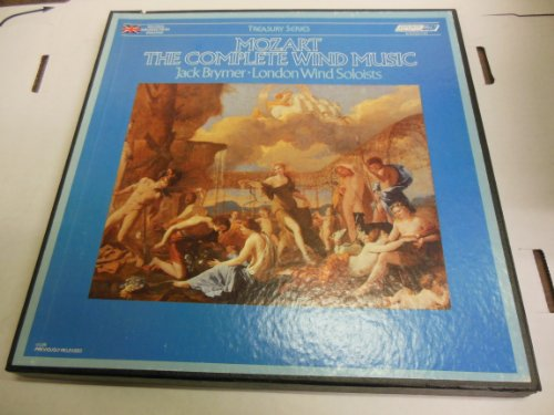- Mozart the Complete Wind Music Jack Brymer London Wind Soloists Import From England