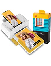 Kodak Dock Plus 4x6 Instant Photo Printer – Bluetooth Portable Photo Printer Full Color Printing – Mobile App Compatible with iOS and Android – Convenient and Practical - 80 Sheet Bundle photo