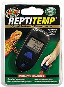Zoo Med ReptiTemp Digital Infrared Thermometer, 6 x 1.3 x 6 inches