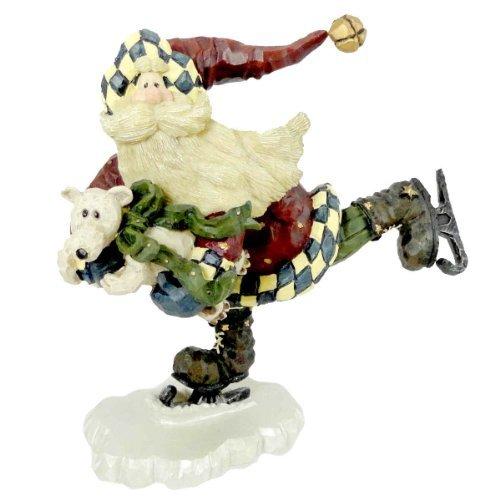 (Boyds Bears Resin Santa Quick As A Flash Christmas Carvers Choice - Resin 7.50)