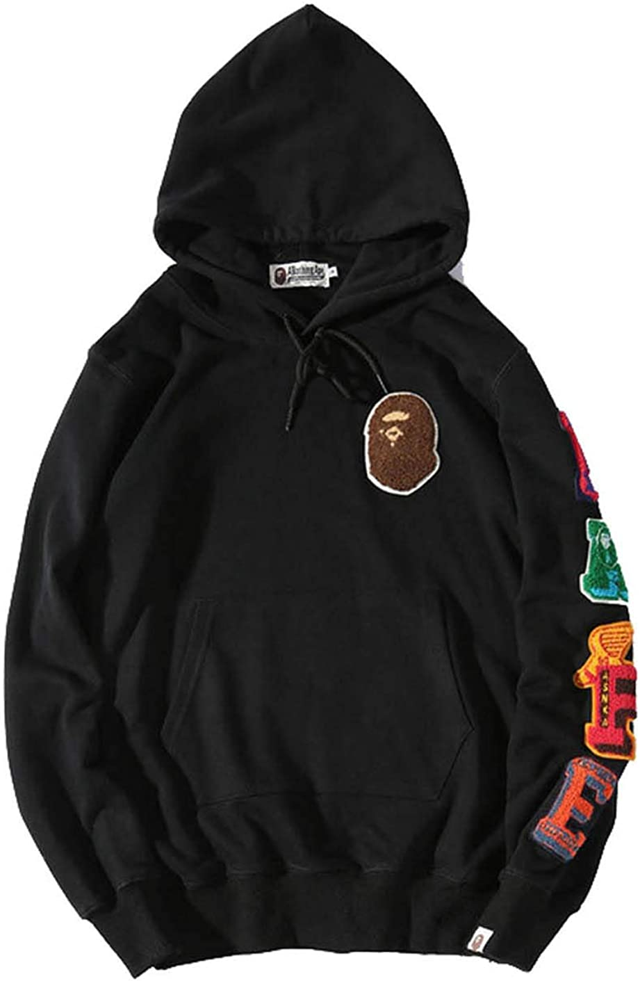 Mens Ape Bape Hoodies Sweatshirt Fashion Casual Coat Outdoor Hip-Hop Funny Tops