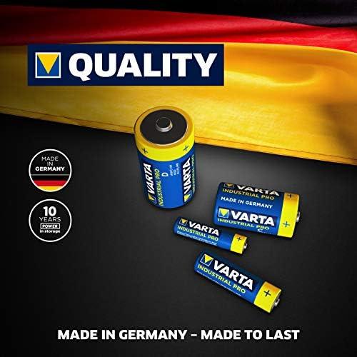 Varta Industrial Batterie 9v Block Alkaline Batterien Elektronik
