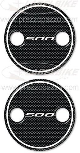 2 ADESIVI in resina 3D T MAX 500 compatibili per carter YAMAHA TMAX 2001-2011