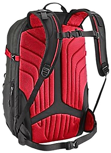 The North Face Router Daypack (TNF Red Asphalt Grey), One Size