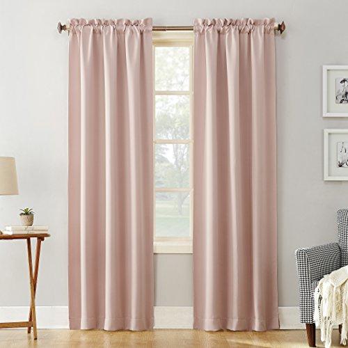 Sun Zero Easton Blackout Energy Efficient Rod Pocket Curtain